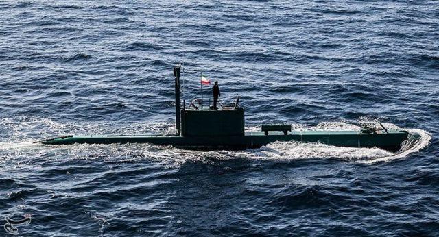 Một tàu ngầm của Iran (Ảnh minh họa: Sputnik)