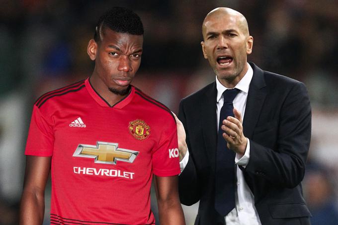 Pogba được cho muốn chính thức trở thành cầu thủ Real Madrid vào ngày 1/7