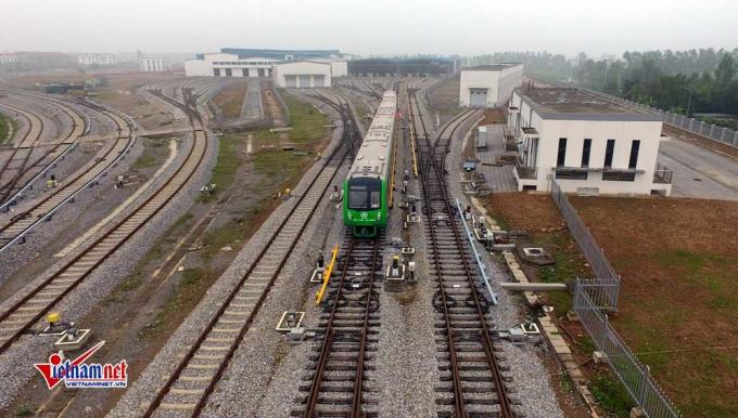 Tàu Cát Linh - Hà Đông chạy với vận tốc trung bình 35 km/h, tốc độ tối đa 80 km/h