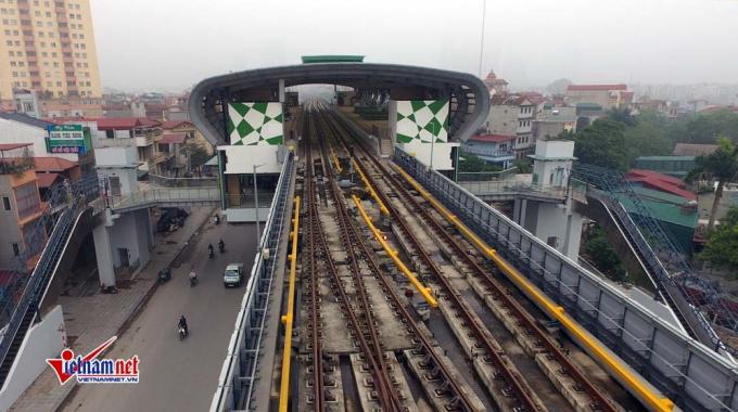 Các nhà ga đã được đưa vào vận hành thử