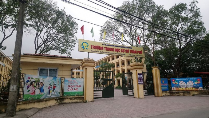 Ngôi trường nơi xảy ra vụ việc