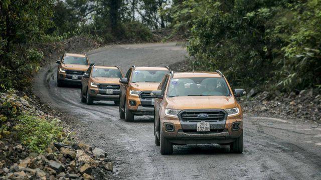 Ford Ranger là mẫu bán tải bán chạy nhất Việt Nam hiện nay