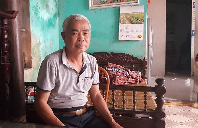 Ông Nguyễn Văn Bình - trưởng thôn Ông Tố.