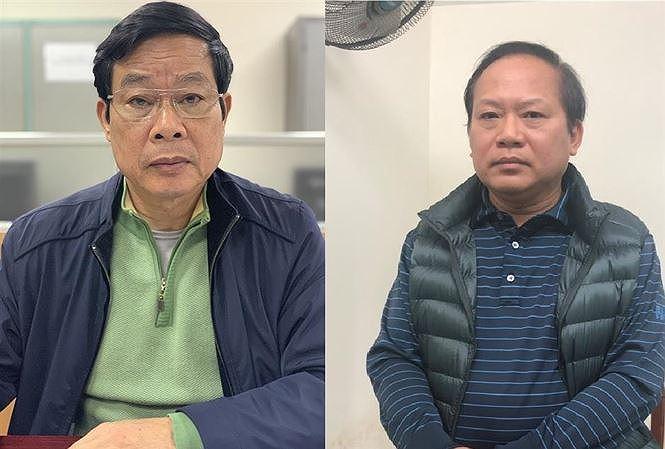 Cựu Bộ trưởng Nguyễn Bắc Son và Trương Minh Tuấn