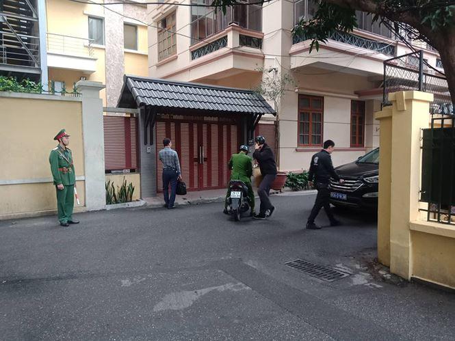 Cảnh sát khám nhà ông Nguyễn Bắc Son