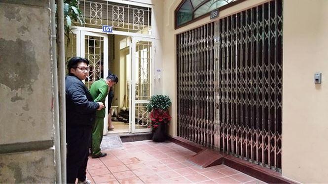 Cảnh sát khám nhà ông Trương Minh Tuấn