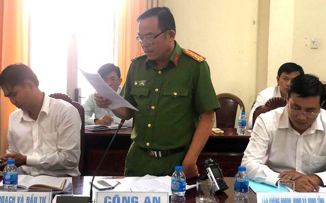 Đại tá Phạm Hữu Châu, Phó Giám đốc Công an tỉnh Long An cho biết không có dấu hiệu phạm tội trong vụ thất thoát gần 7 tỷ đồng tại Ban Quản lý dự án công trình giao thông thuộc Sở GTVT Long An.