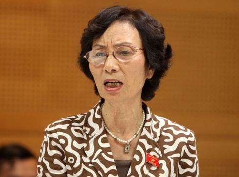 PGS.TS Bùi Thị An, nguyên đại biểu Quốc hội khóa XIII. (Ảnh: KT)