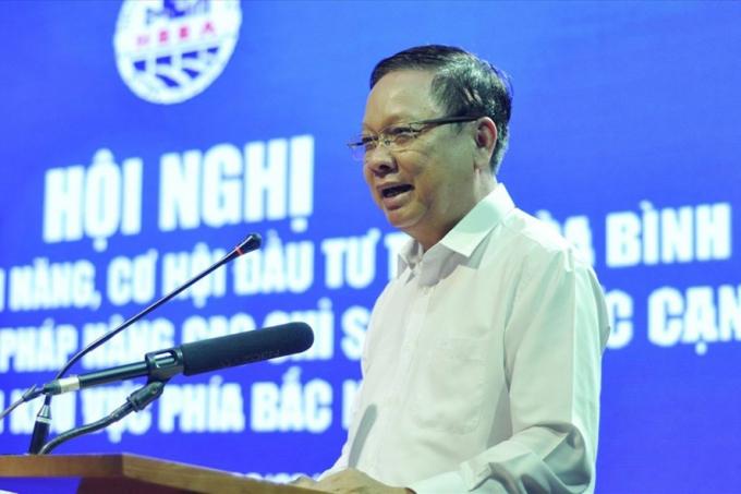Ông Bùi Văn Tỉnh, Bí thư Tỉnh ủy Hòa Bình.