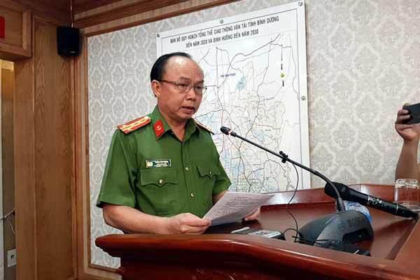 Đại tá Trần Văn Chính, Phó giám đốc Công an tỉnh Bình Dương