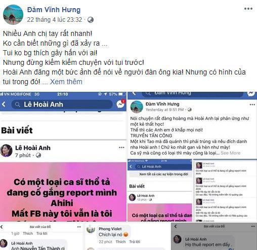 Mr. Đàm và chủ facebook Lê Hoài Anh vẫn lời qua tiếng lại.