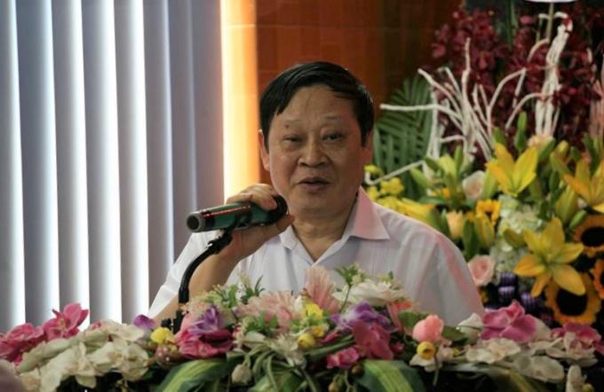GS.TS Nguyễn Viết Tiến - Thứ trưởng Bộ Y tếphát biểu tại buổi lễ.