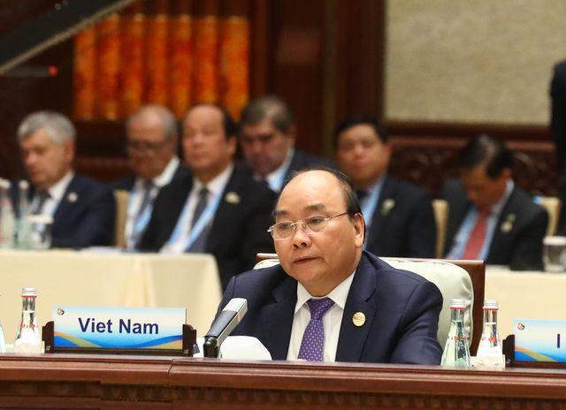Thủ tướng Chính phủ Nguyễn Xuân Phúc tại Hội nghị bàn tròn Diễn đàn hợp tác cấp cao