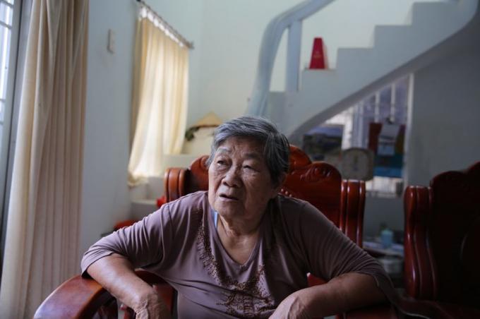 Bà Nguyễn Thị Ni, cựu tù đang sống tại Côn Đảo