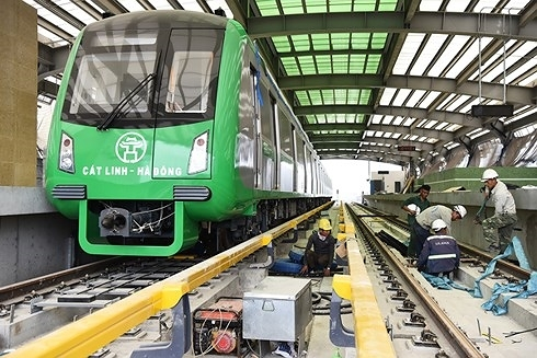 Người dân Thủ đô và cả nước đặt câu hỏi, kh nào thì đường sắtCát Linh - Hà Đông hết