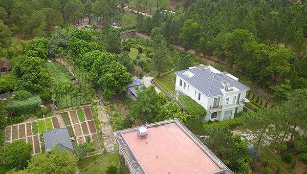Một số công trình xây dựng tại huyện Sóc Sơn.