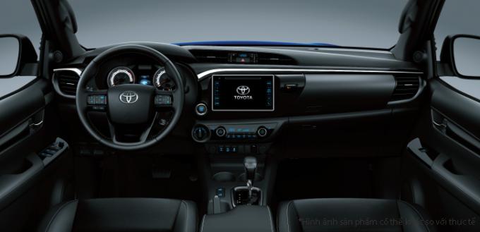 Toyota Hilux có thêm phiên bản thấp cấp với trang bị vừa đủ dùng