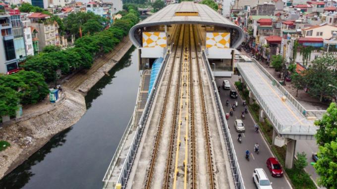Dự án đường sắt Cát Linh- Hà Đông xây dựng nhiều năm chưa hoàn thành.