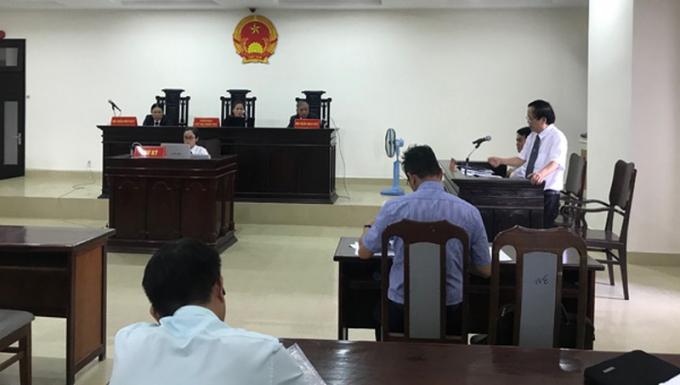 Phiên tòa sơ thẩm hành chính giữa Vipico và UBND TP Đà Nẵng ngày 25/9