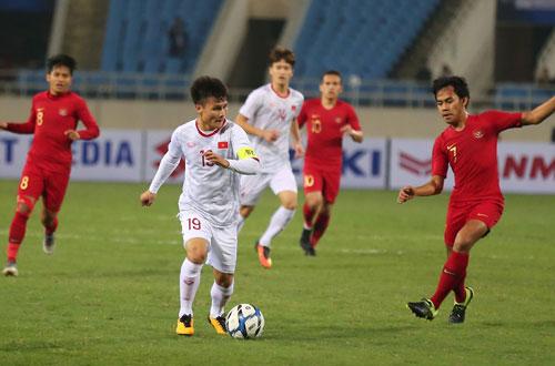 ĐT Việt Nam gặp điềm may trong trận gặp Indonesia