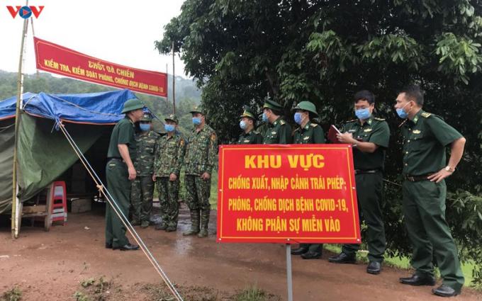 Tính đến nay, 157 lán trại đã được dựng lên, duy trì 24/24 trên toàn tuyến biên giới tỉnh Lạng Sơn.