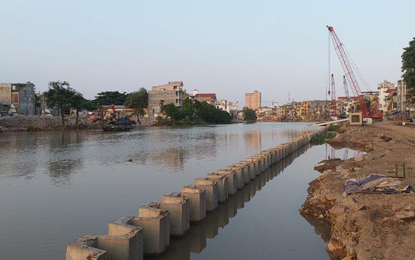 Dự án chỉnh trang sông Tam Bạc