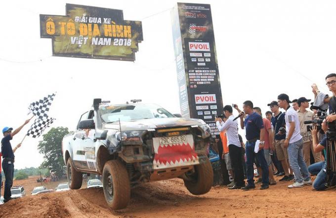 Chính thức khai màn giải đua xe địa hình lớn nhất Việt Nam.