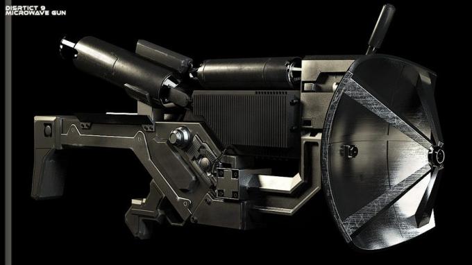 Một loại súng vi sóng.