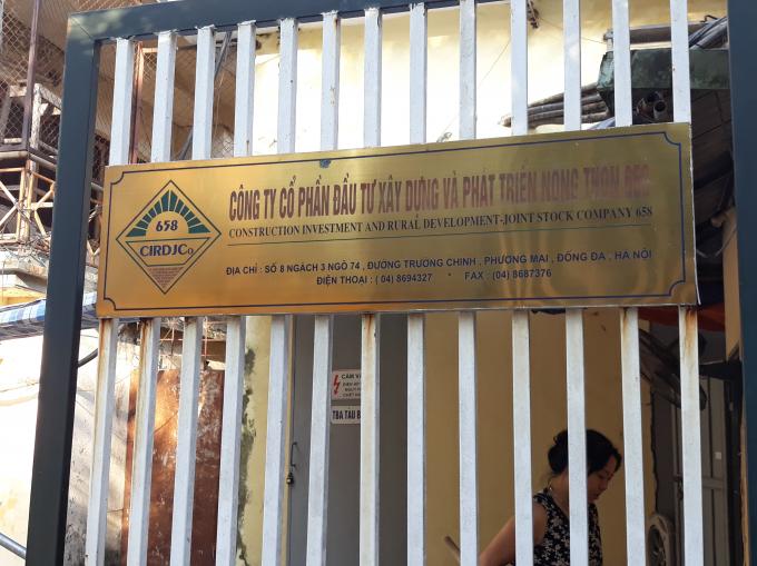 Công ty CPĐT xây dựng và phát triển nông thôn 658