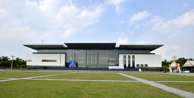 Nhà hát tỉnh Vĩnh Phúc được xây dựng với kinh phí gần 800 tỷ đồng.
