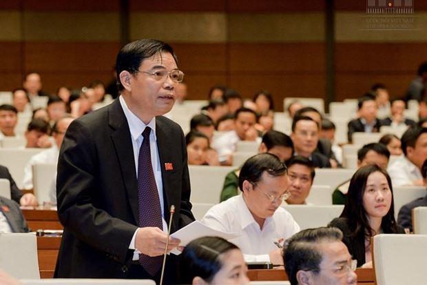 Bộ trưởng Bộ NN&PTNN Nguyễn Xuân Cường.