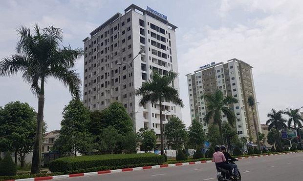 Dự án chung cư phía Đông Đại lộ Lê - Nin của Cty CP Đầu tư và Phát triển nhà Hà Nội số 30. Ảnh: Báo Xây dựng.