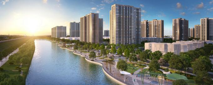 Phối cảnh đại đô thị VinCity Ocean Park