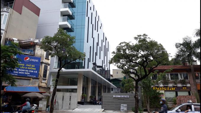 Tòa nhà văn phòng Ba Đình Office.