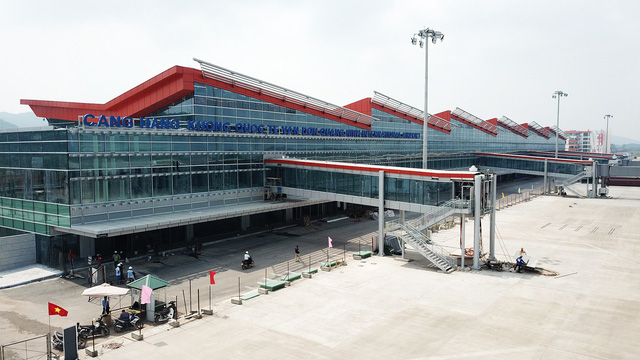 Cảng Hàng không quốc tế Vân Đồn đã hoàn thành thi công.