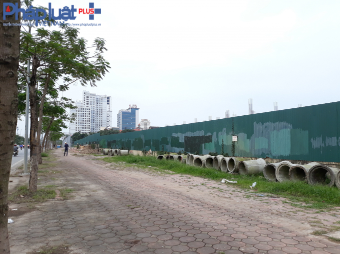 Dự án nằm ngay tại mặt đường Võ Chí Công.