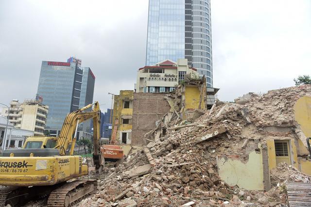 Dự án mới cũng có cả khu căn hộ chung cư.