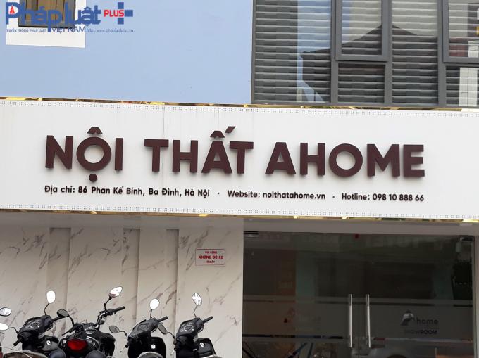 Cửa hàng đối diện cũng là số 86 Phan Kế Bính.