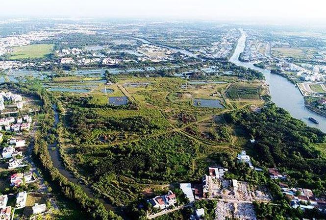 Khu đất 32ha tại xã Phước Kiển, huyện Nhà Bè TP.HCM được bán chỉ định cho công ty Quốc Cường Gia Lai với giá bèo.