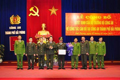 Thiếu tướng Đỗ Hữu Ca thôi giữ chức Giám đốc Công an Hải Phòng.