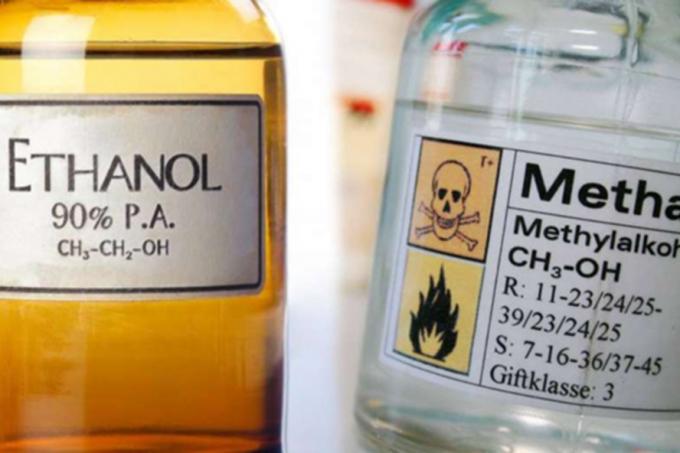 Ngộ độc rượu methanol (rượu công nghiệp, cực độc) cho người bệnh uống ethanol (rượu, bia thực phẩm) thì sẽ có tác dụng giải độc?