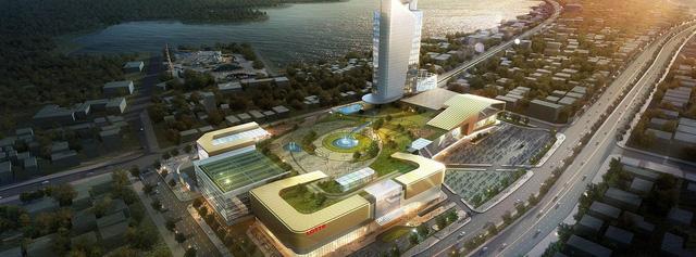 Phối cảnh Dự án Lotte Mall Hanoi sắp được triển khai.