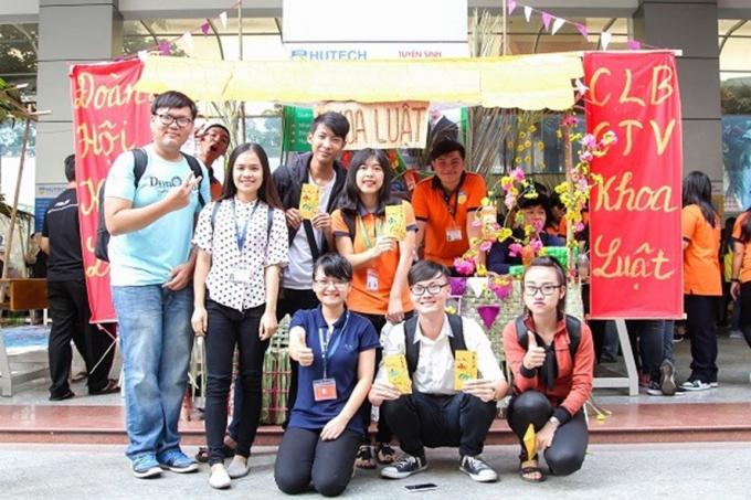 Sinh viên của ĐH Công nghệ TPHCM được nghỉ tết dài nhất - 26 ngày liên tục. Ảnh: Website HUTECH.