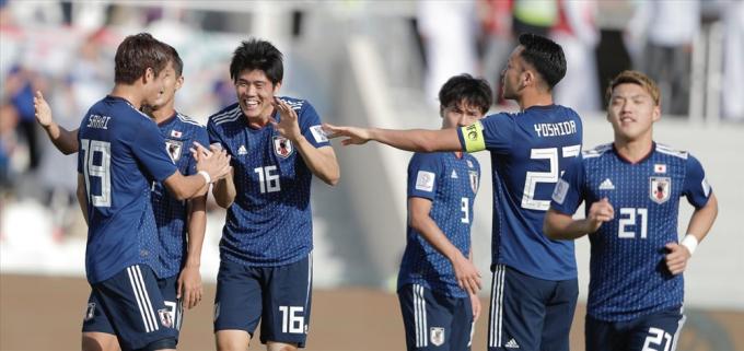 ĐT Nhật Bản sỡ hữu nhiều cầu thủ đang chơi bóng ở Châu Âu. Ảnh: AFC.