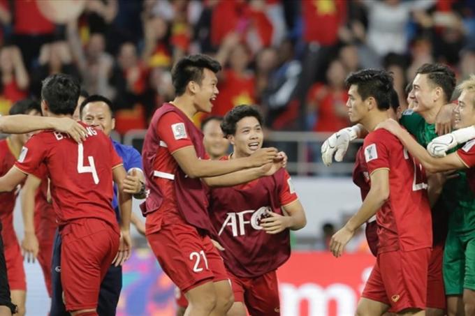 ĐT Việt Nam sẽ chạm trán Nhật Bản ở trận tứ kết đầu tiên Asian Cup 2019. Ảnh: AFC.