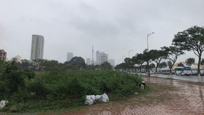 Khu đất cạnh công viên APEC thu hồi để mở rộng công viên.