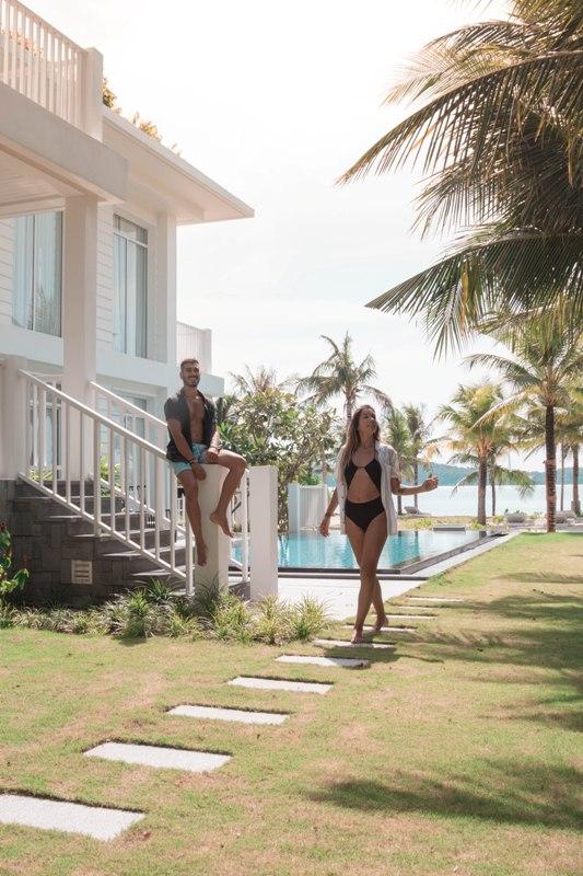 Tự do và bình yên giữa thiên nhiên tuyệt đẹp của Nam Phú Quốc.@freeoversea tại Premier Village Phu Quoc Resort.