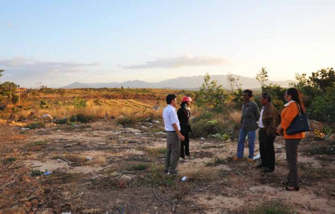 Diện tích đất bà Xí tranh chấp có nguồn gốc là đất công do xã Ia Le quản lý.