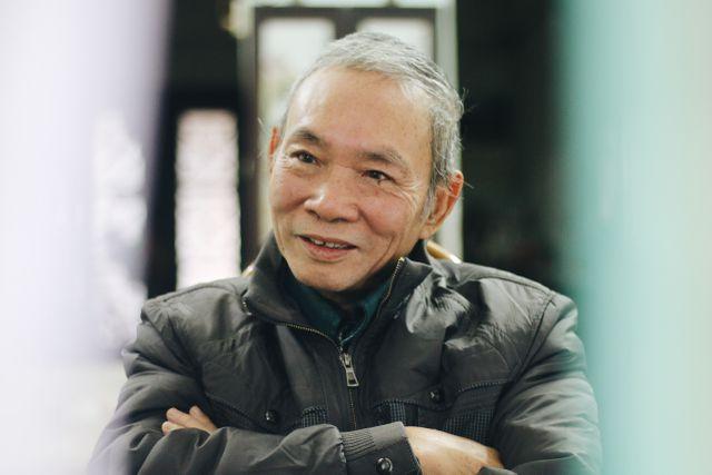 Ông Thái An say sưa kể về Tết xưa của người Hà Nội.