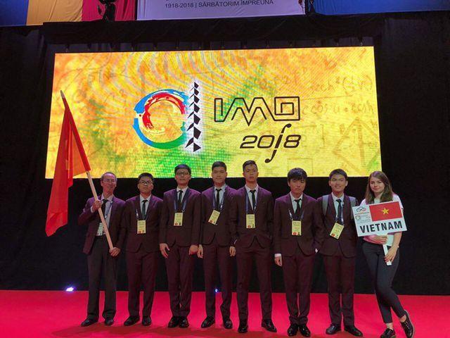 Cả 6 học sinh Việt Nam tham dự Olympic Toán học quốc tế lần thứ 59 đều đoạt giải.